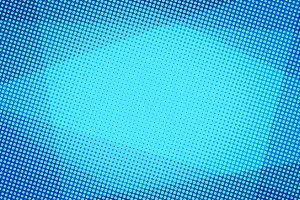 Blue halftone abstract background