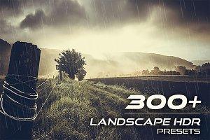 310+ Landscape HDR Presets