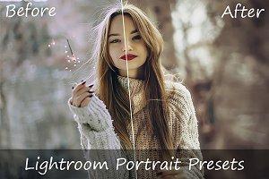 186 Portrait Lightroom Presets
