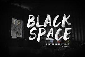 Black Space SVG Font