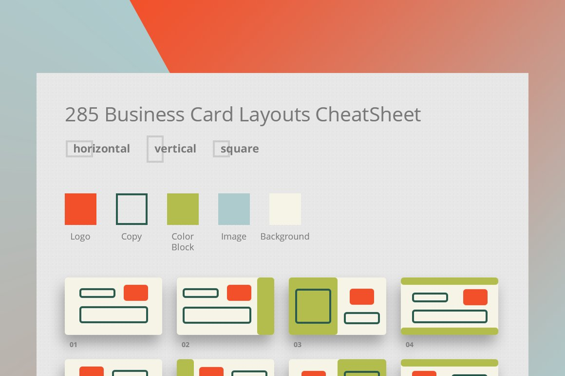 285 business card layouts cheatsheet business card templates 285 business card layouts cheatsheet business card templates creative market colourmoves