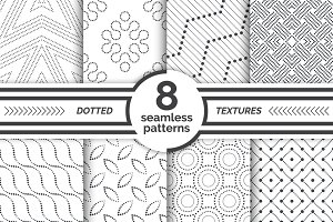 Seamaless dotted textures