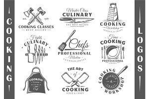 9 Cooking Logos Templates Vol.2