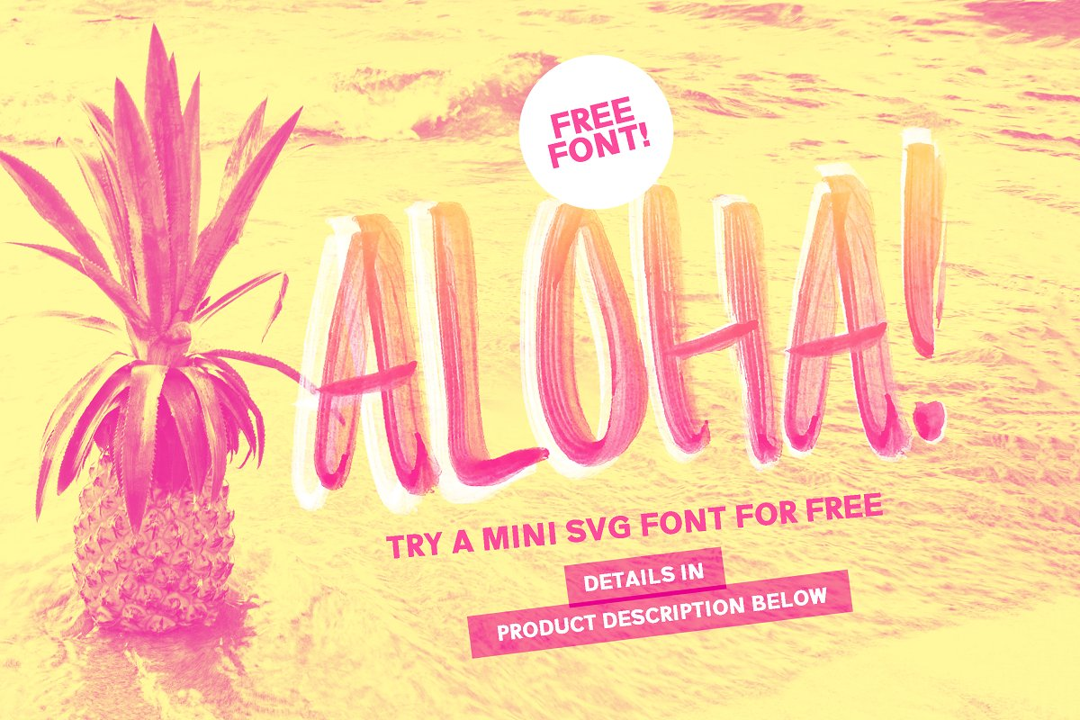 Summer Loving Font Collection in Display Fonts - product preview 21