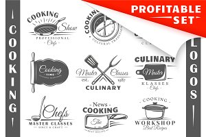 18 Cooking Logos Templates