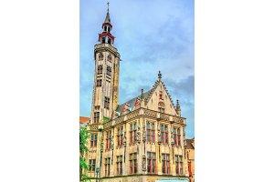 Building in Bruges, Belgium