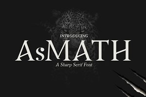 Asmath a Sharp Serif