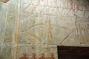 Various tourist photos of famous places in Cairo Egypt