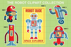 The Robot Clip Art Collection