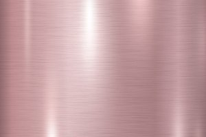 Pink copper metal texture background