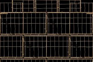 Iron Grid Seamless Pattern
