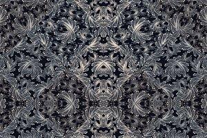Modern Baroque Ornate Pattern