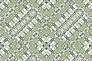 Intersecting Geometric Seamless Pattern
