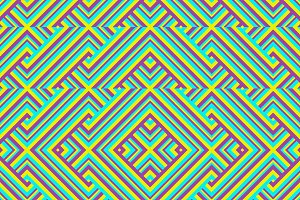 Geometric Intricate Seamless Pattern