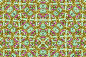 Collage Check Ornate Seamless Pattern