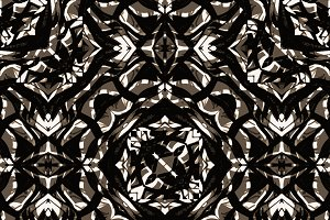 Bold Ornate Seamless Pattern Design