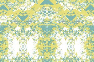 Bright Vintage Decorative Seamless Pattern
