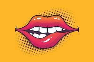 Biting Lips
