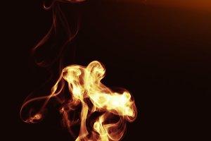 Intense Flaming Fire