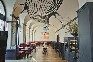 Restaurant Interior in classic style