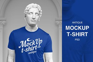 Mockup T-shirt Antique #1