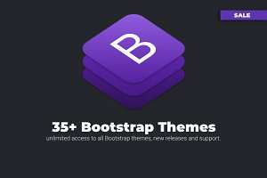 35+ Responsive Bootstrap Themes SALE