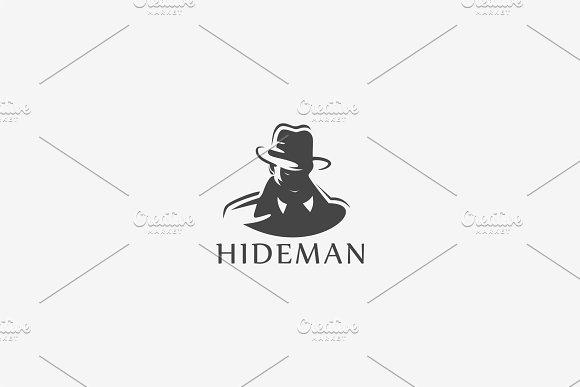 Hide Man Logo Design
