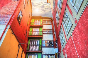 Colorful Porto Streets