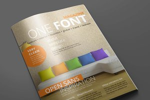 Magazine/Editorial Template 01