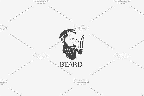 Logo Design Beardustaches