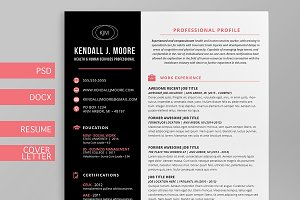 Resume + Cover Letter Template Suite