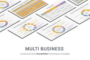 Multi Business PowerPoint Template