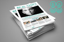 InDesign newspaper