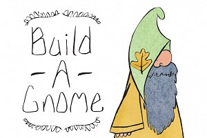 Build A Gnome Character Kit