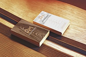 Wooden Business Card 3