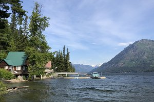 Lake Wenatchee Summer Background