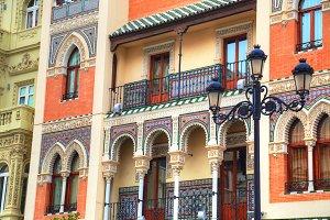Spain, Seville streets