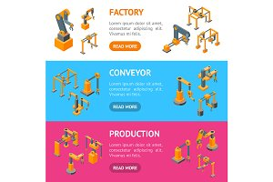 Conveyor Machines Robotic Hand Set
