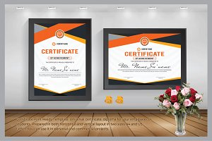 Certificate Print Ready Template