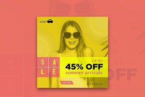 Summer Off Arrivals Instagram Banner