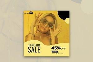Glasses Sale Here Instagram Banner