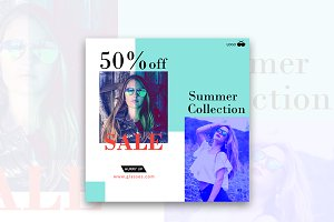 50% Off Sale Instagram Banner