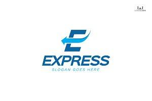 Express - Letter E Logo
