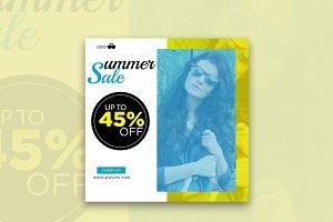 Glasses Summer Sale Banner