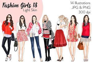 Fashion Girls 18 - Light Skin
