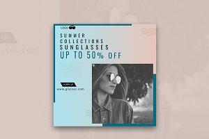 Summer Off Sunglasses Banner