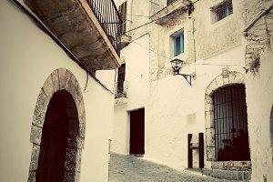 Ibiza: old city architecture