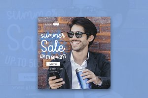 Summer Off Instagram Banner