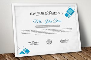 Office Word Certificate Template