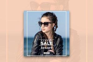 Summer Off Sale Instagram Banner